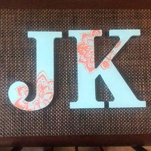 JK letters